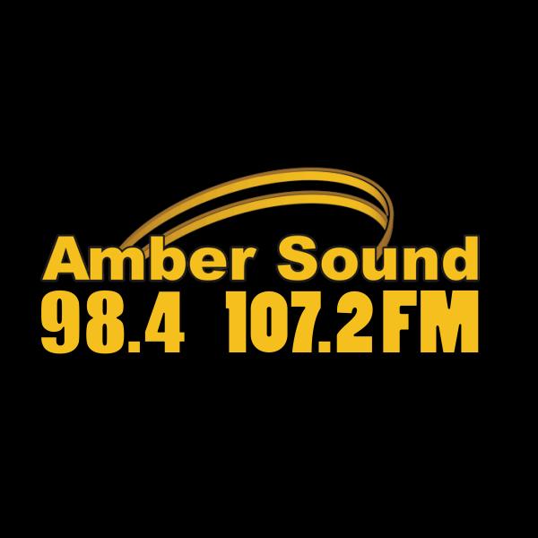 Amber Sound 107.2FM Derbyshire  600x600 Logo