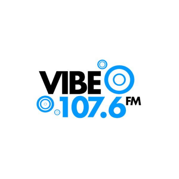 Vibe 107.6 - Radio Made in Watford 600x600 Logo